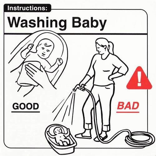 Hur du bäst tvättar ditt barn!